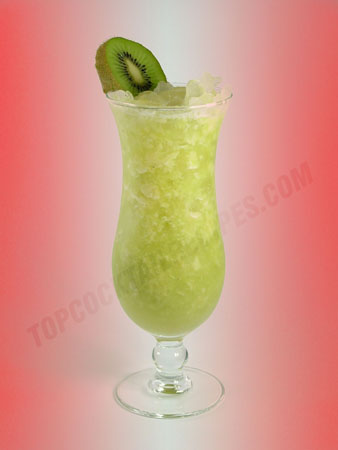 kiwi and pineapple cocktail