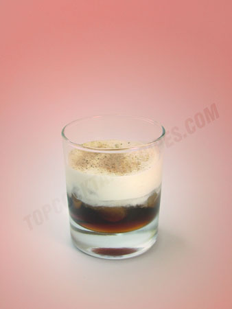 white russian drink